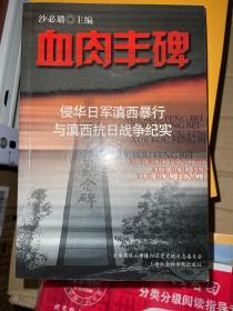 血肉丰碑:侵华日军滇西暴行与滇西抗日战争纪实