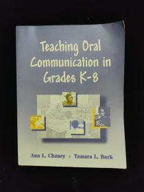 TEACHING ORAL COMMUNICATION IN GRADES K-8