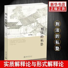 刑法的私塾 张明楷著 刑法攻略一本通 中国人民共和国刑法案例练习总论刑法基本立场书 刑法正版书籍