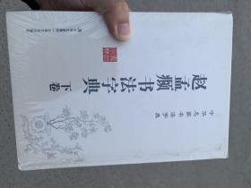 中华名家书法字典 赵孟頫书法字典 吉林文史出版社 精装