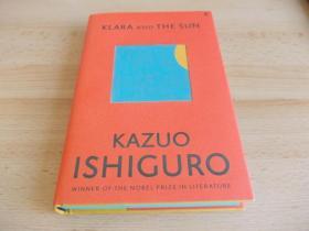 预售克拉拉与太阳 石黑一雄2017诺贝尔文学奖获得者新作 英版普通版Klara and the Sun