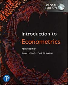 Introduction to Econometrics(计量经济学,4e)