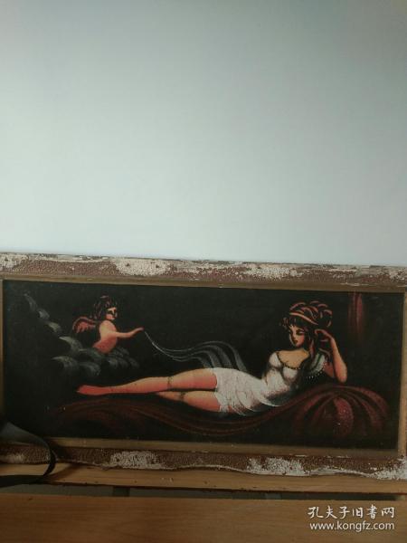 油画–天使的降临