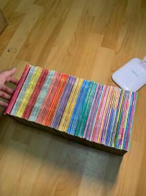 海南版七龙珠 79册全套 74海南➕5甘肃。前两卷高品有贴纸。重返地球卷到悟空辞世卷有小章 不影响收藏