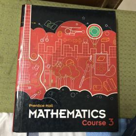 Prentice Hall Mathematics:Course 3(美国原版数学教材)精装12开