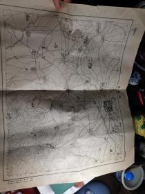 民国初期  直隶省延庆县地图