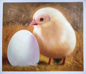 张嘉应精品50x60油画,原价680元,国庆特价5