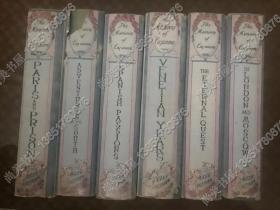 【现货包邮】1940年出版the memoirs of Casanova 卡萨诺瓦回忆录 六卷套