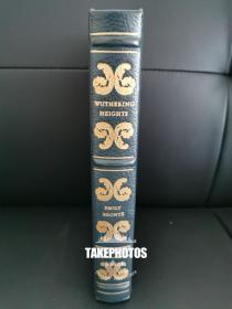 Wuthering Heights 《呼啸山庄》 艾米丽 勃朗特 emily bronte 名著 easton press 1980年真皮精装版
