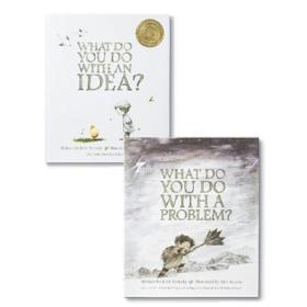 【现货合售】英文原版 Kobi Yamada 两册绘本 有了想法你怎么做+