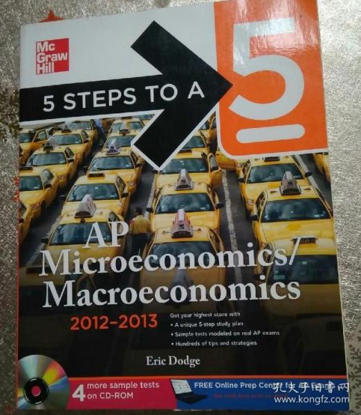 5 Steps to a 5 AP Microeconomics/Macroeconomics with CD-ROM, 2012-2013 Edition