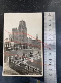 民国时期上海国际饭店老照片 尺寸够用画面清晰民国精品