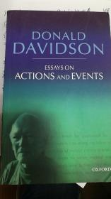 Essays on Actions and Events 行动和事件论文集