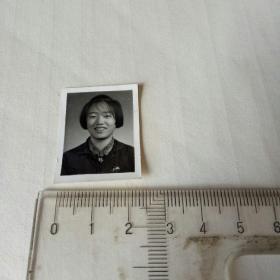 70年代老照片(1975年通辽糖厂女职工一寸照)