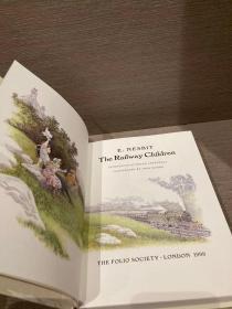 The Railway Children(内斯比特《铁路边的孩子》,Igna Moore彩色插图,布面精装,带书匣,Folio版精品)
