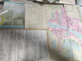 武汉市交通游览图