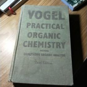 VOGEL PRACTICAL ORGANIC CHEMISTRY(实用有机化学)