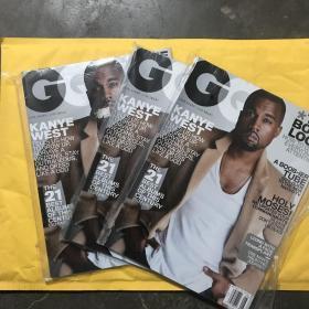 GQ us 2014年8月 Kanye west