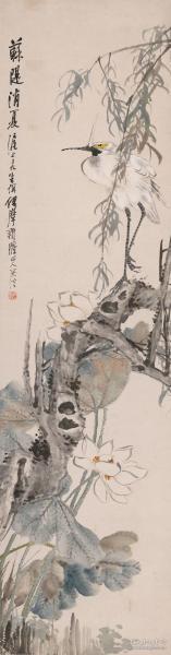 朱偁 摩 华yan苏堤消夏图。纸本大小40.05*152.48厘米。宣纸原色微喷印制,按需印制不支持退货
