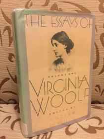 The essays of Virginia Woolf volume one 伍尔夫散文集 卷一 馆藏书 美国初版