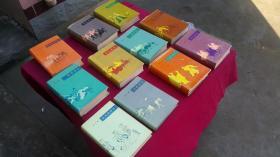 中国历代通俗演义11册全套前后汉唐,宋。元?明清南北两晋史演义。