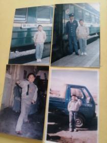 孩童照片四张