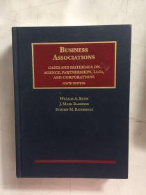 Business Associations s cases and materials on agency、parnershitps、and corporations商业协会 案例和资料