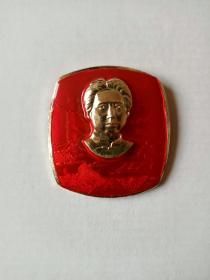 方版毛主席青年时代章(直径5.1厘米)