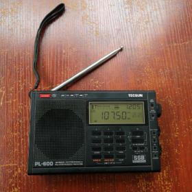 德生PL-600高性能全波段数字调谐立体声收音机