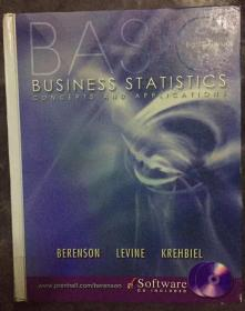 Basic Business Statistics 基本业务统计 附光盘  Mark L. Berenson; David M. Levine; Timothy C. Krehbiel 9780130903006
