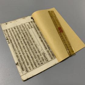 晚清光绪石印本 资治新书二集 卷十四、十五、十六