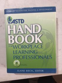 astd handbook for workplace learning professionals 美国协会教育和发展 16 开精装 附光盘