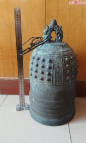 A6000三十斤重的带工带款青铜钟