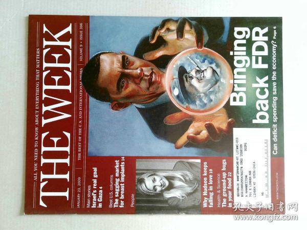 The Week 美国一周杂志 2009年1月23日 外文原版过期时事新闻