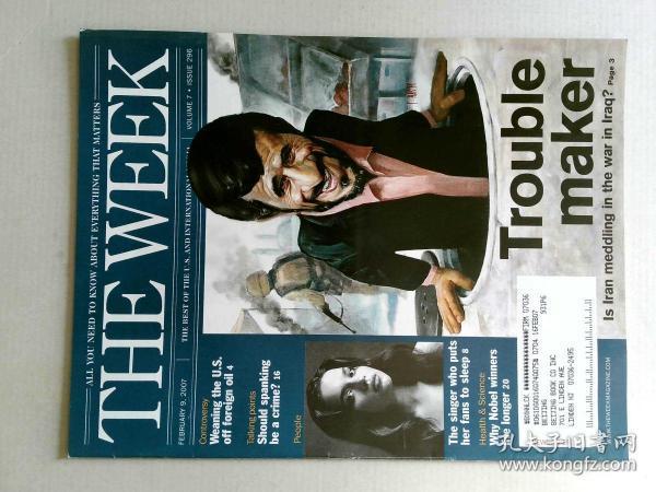 The Week 美国一周杂志 2007年2月9日 外文原版过期时事新闻