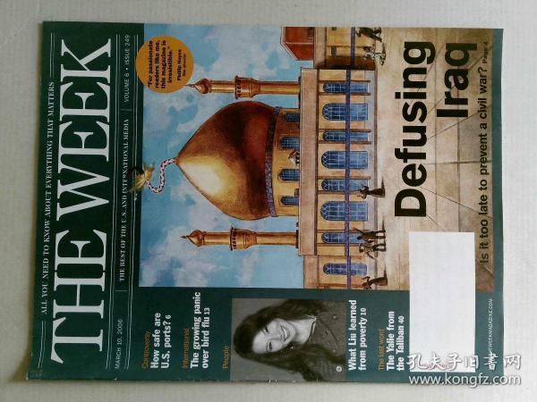 The Week 美国一周杂志 2006年3月10日 外文原版过期时事新闻