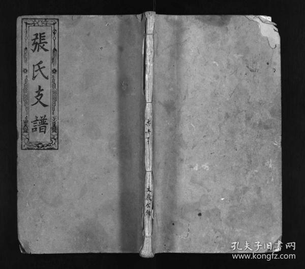 张氏支谱 [6卷]