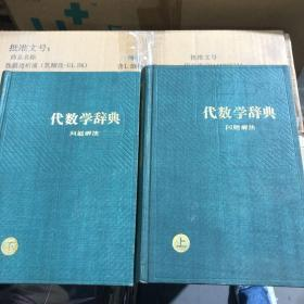 代数学辞典(上下)