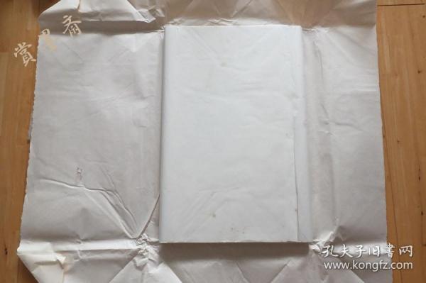 日本8-90年代初手漉画仙纸 和纸 书法用老宣纸尺八屏1刀50张 N537