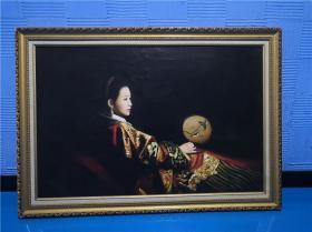 刘声雨油画(保真)