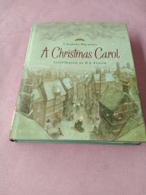 A Christmas Carol CHARLES DICKENS 查尔斯·狄更斯的圣诞颂歌 精装16开