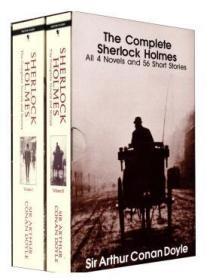 进口英文原版 福尔摩斯探案集全集 英文原版 Complete Sherlock Holmes (全2册) 小说悬疑推理 经典名著大学生畅销