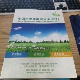 中国生物质能源大全2017