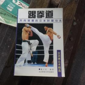踢拳道(所向披靡的日本肘膝功夫)