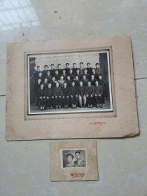 上海纺织工学院机织75(2)班毕业留念+56年照片合售