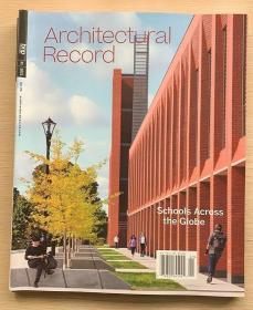 美国版Architectural Record建筑辑要2021年1月 建筑设计英文杂志