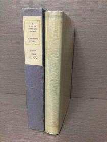 A Tourist in Spite of Himself(爱德华·纽顿《糊涂旅行家》,限量525本之一,带作者签名和编号,Gluyas Williams插图,布脊精装毛边大开本,配书匣,1930年初版,难得一见好品相)