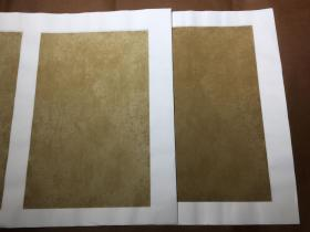 蜡染松花签·浅仿古半生熟宣纸·每袋十张