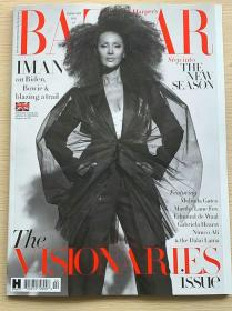 英国版 HARPER`S BAZAAR 芭莎2021年2月 英文时尚女士服装杂志