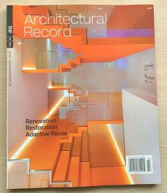 美国版Architectural Record建筑辑要2021年2月 建筑设计英文杂志